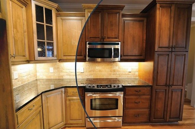 Top Staining Kitchen Cabinets Excellent