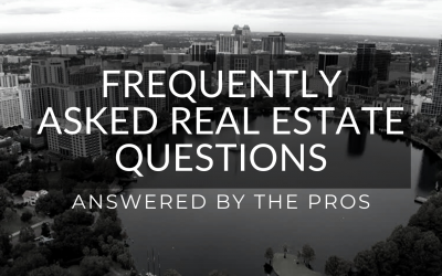 Your Top Real Estate Questions Answered By The Pros!